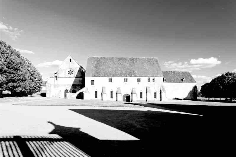 Abbaye de Noirlac, Centre de la France.