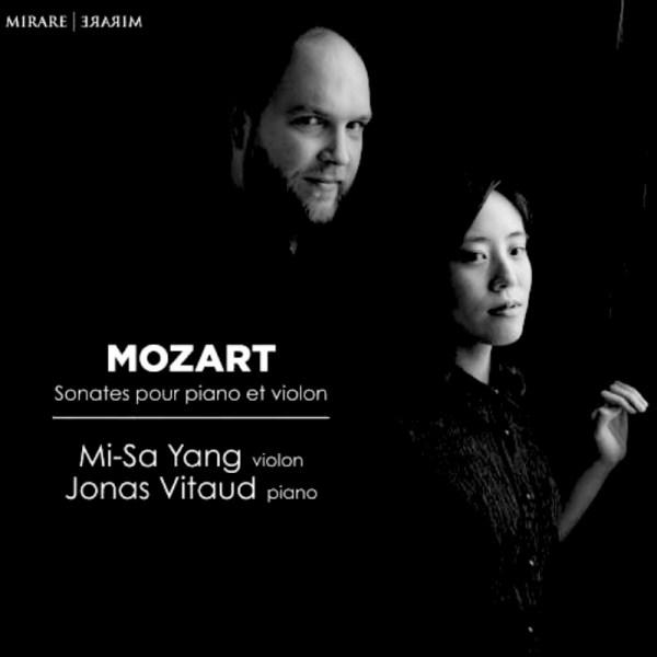 jonas vitaud et mi-sa yang sonates pour piano et violon de Mozart
