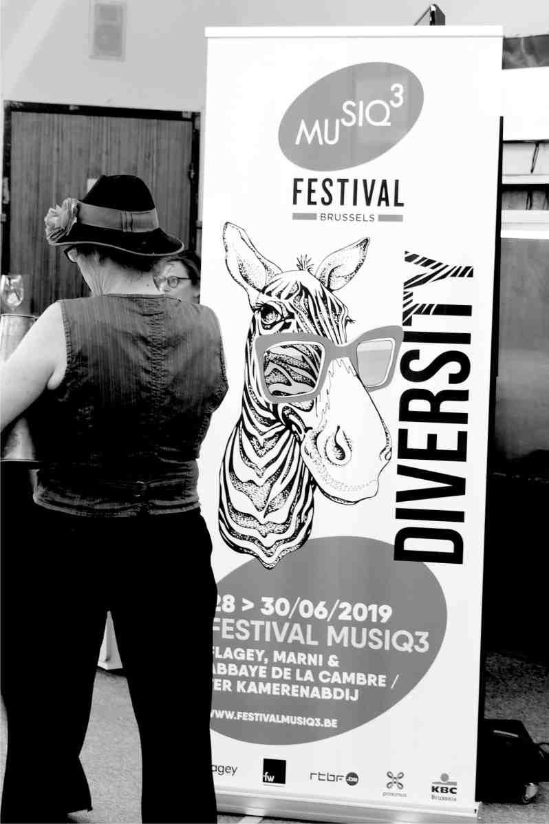 Festival Musiq3. Salle Flagey. Bruxelles