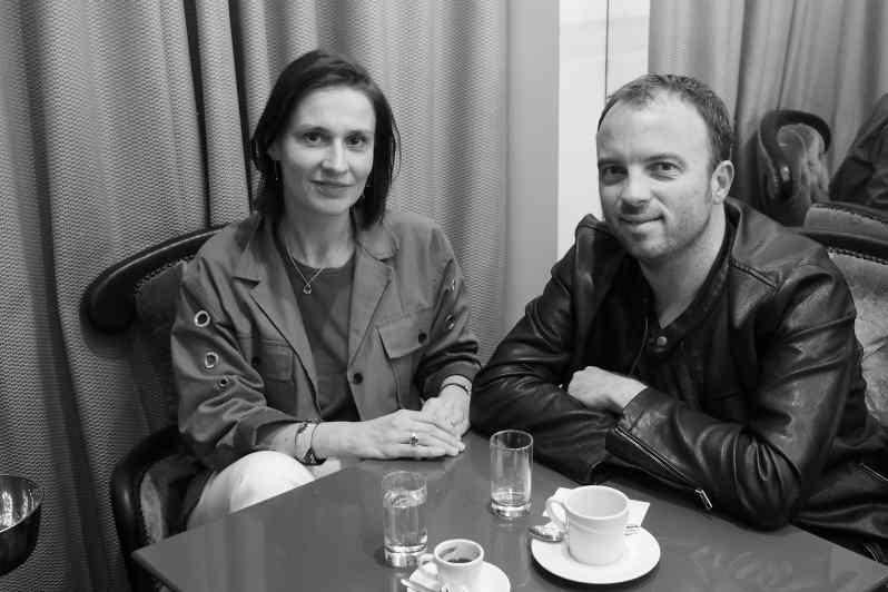 Anne-Sandrine Di Girolamo et Patrick Langot