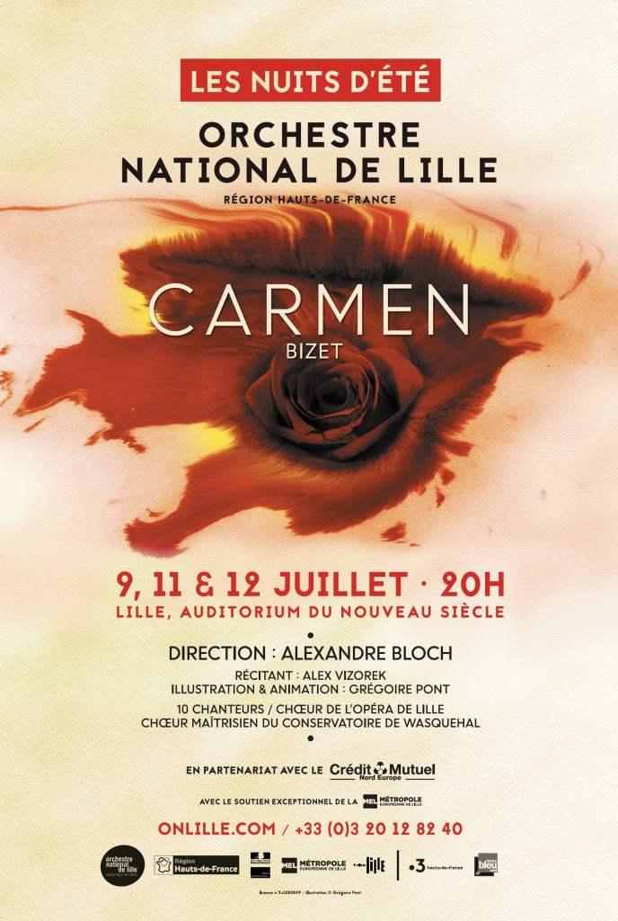 Carmen Orchestre National de Lille