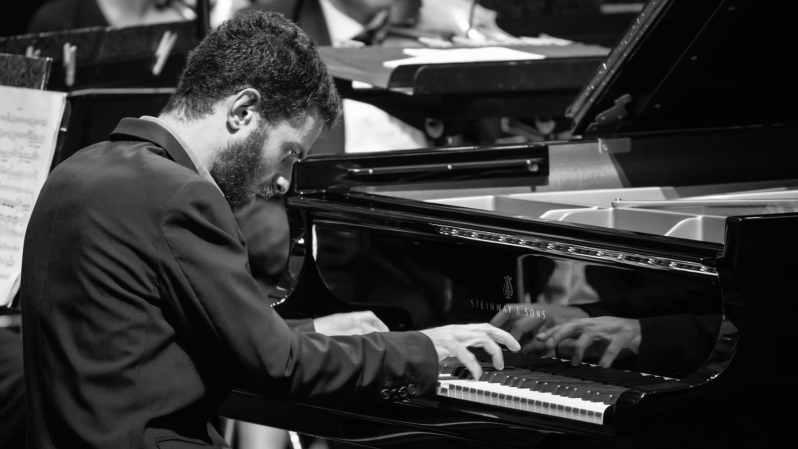 Adam Laloum - Concert 20 juillet 2019 - Festival de la Roque d'Anthéron -