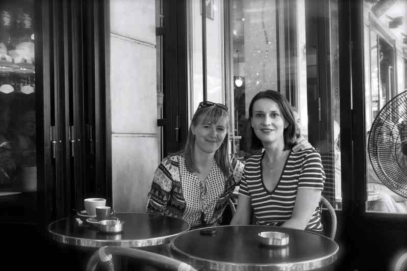 Suzana Bartal et Anne-Sandrine Di Girolamo.