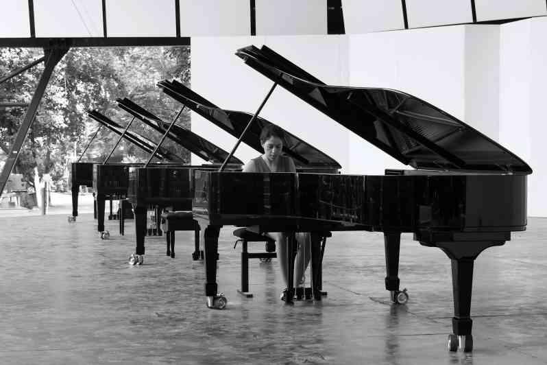 Beatrice Rana - Le choix du piano - Festival de La Roque d'Anthéron 2019