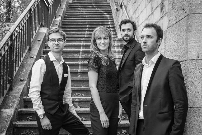 Quatuor Varèse crédits Bruno Tocaben