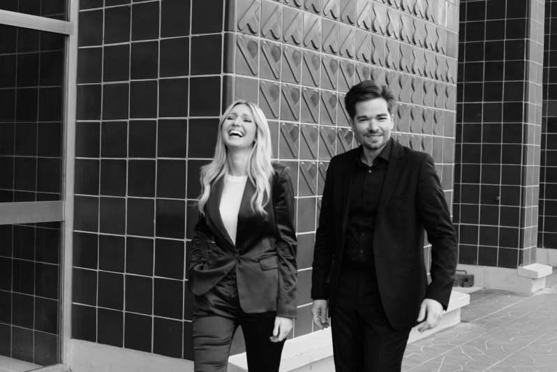 Julien Martineau et Vanessa Benelli Mosell