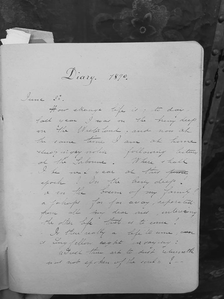Julia Klumpke Diary