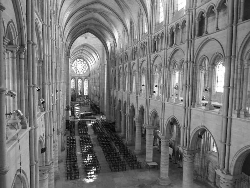 NEF cathédrale Laon II (© OT Pays de Laon)