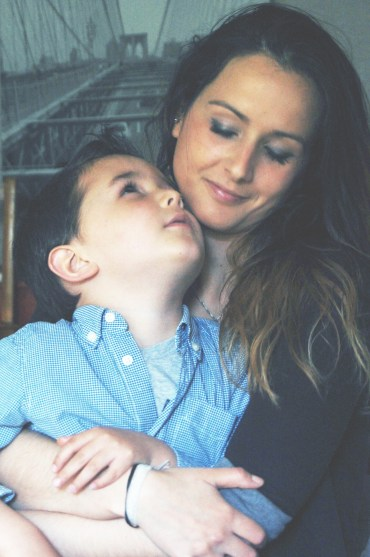 Mother and son