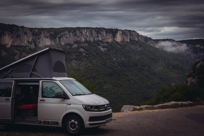 Road Trip Van en Ardeche with BlackSheep Van sylvie schneider