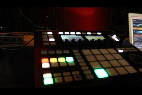 Beatproduktion...