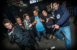 Drob Dynamic und Crew beim Rapworkshop