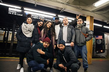 BxB 2017 crew shot subway