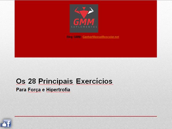 Ebook: Os 28 principais Exercícios de Força e Hipertrofia