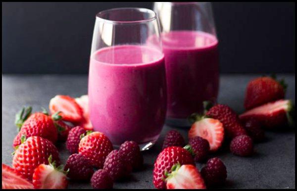 Smoothie-de-frutas-vermelhas