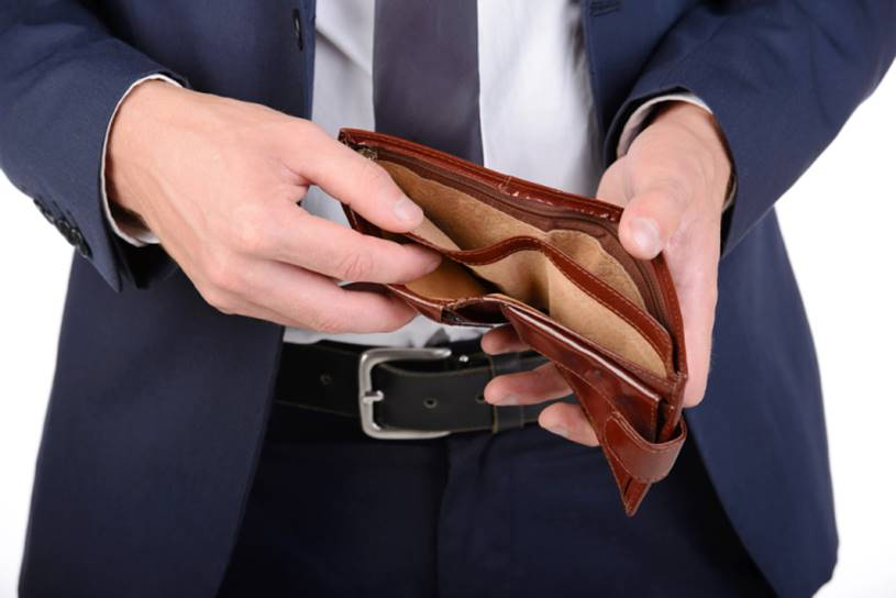 ficar pobre após ganhar na loteria