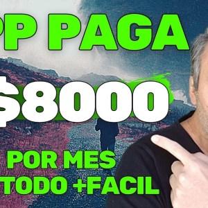 APP PAGA R$8000 POR MES NO YOUTUBE | GANHAR DINHEIRO NA INTERNET