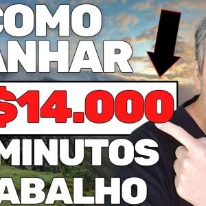 COMO GANHAR R$14.000 EM 30 MINUTOS DE TRABALHO | VENDEDOR GLOBAL