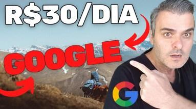 Como Ganhar R$30 por dia no Google | Ganhar Dinheiro na Internet #shorts