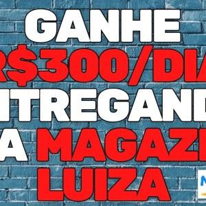 GANHE R$300 POR DIA ENTREGANDO PACOTES PRA MAGAZINE LUIZA #shorts