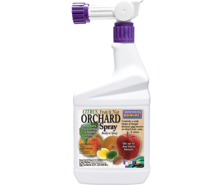 citrus fruit and nut orchard spray- hose end