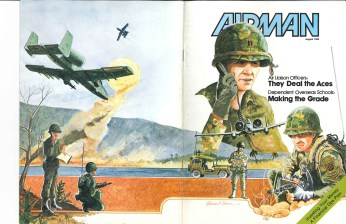 Airman Cover and cover story