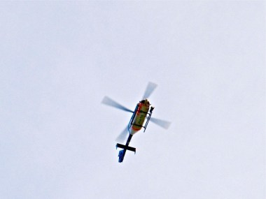 Police Helicopter-Thermal Imaging