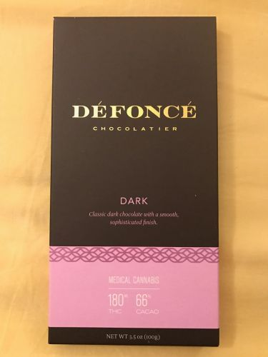 Defonce dark chocolate