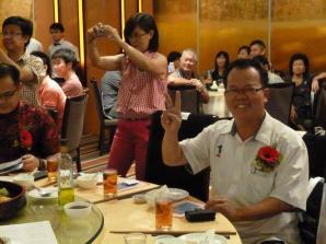 Zhineng Qigong dinner2
