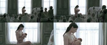 フランス映画界の女優、ヴィルジニー・ルドワイヤン(Virginie Leydon)のおっぱいです。