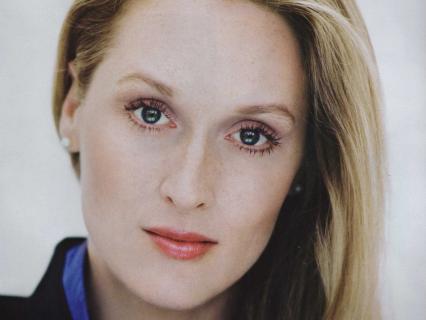 2011年の『マーガレット・サッチャー 鉄の女の涙』で、アカデミー主演女優賞を受賞したメリル・ストリープ(Meryl Streep)のギリギリショット!