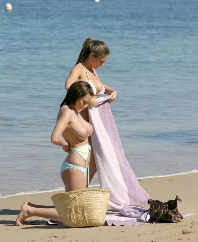 海外のビーチってたまらんな。 勃起したらどうしよう・・・