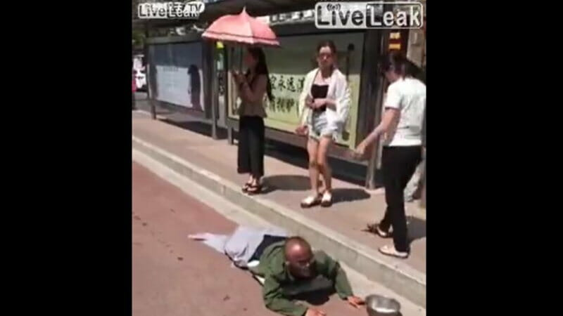 韓国の乞食の闇が暴露される瞬間です。