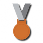 médailles bronze
