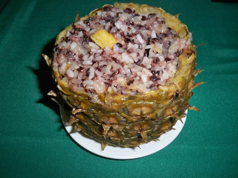 Pineapple Rice Bolo Fan