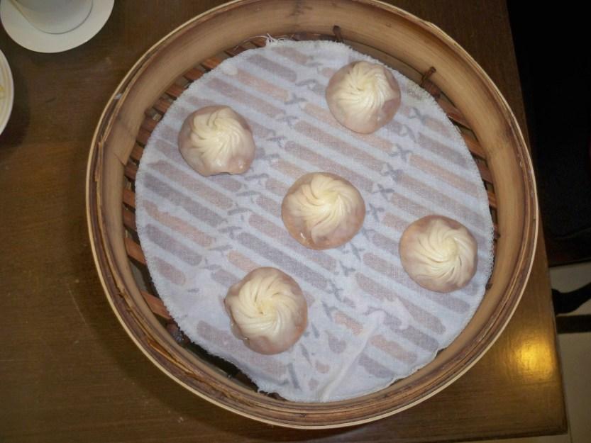 Xiaolong Bao in steamer