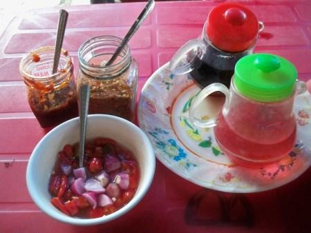 Cao Lao condiments