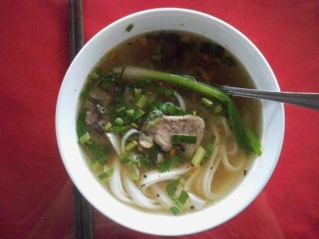 Cua Dai breakfast pho