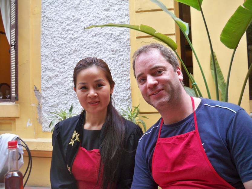 Ms Hoa and me