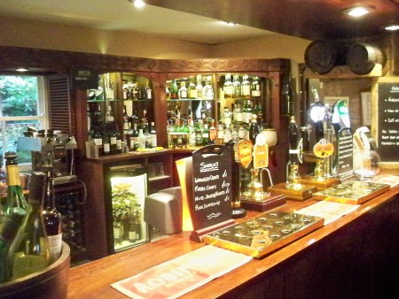 Chequers bar