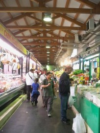 Fruit and veg market