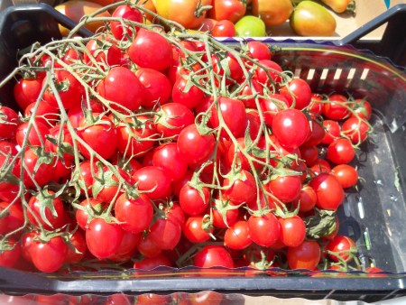More tomatoes