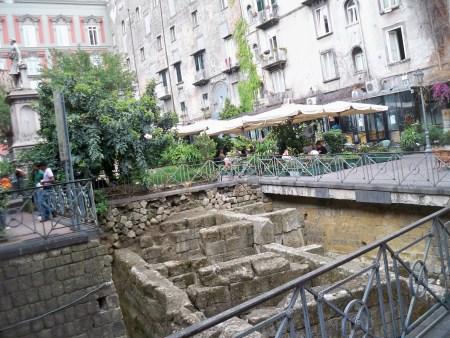 Ruins in Piazza Bellini
