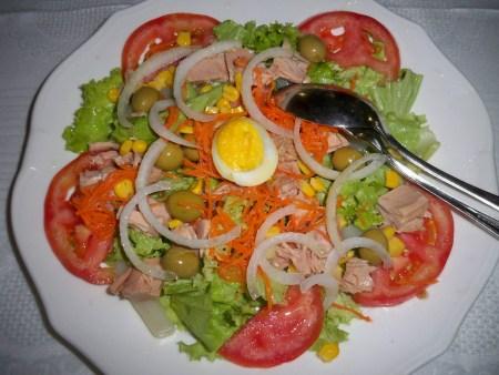 Humungous salad