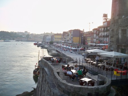 Ribeira from the bridge