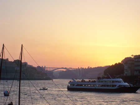Sunset on the Douro