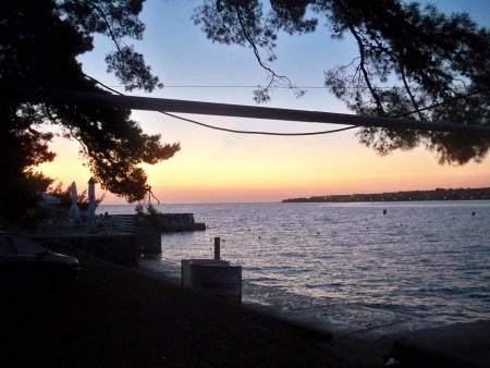 Petrcane sunset