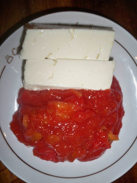 Cheese with Guava jam