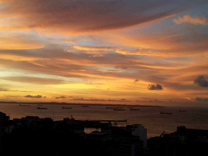 Bay of Bahia sunset