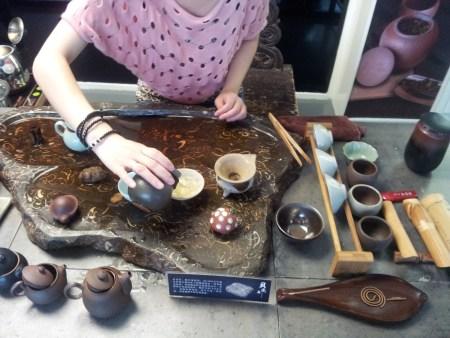 Making a cuppa